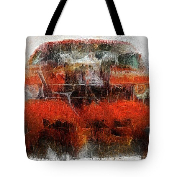 Challenger Wash Tote Bag by Michael Cleere