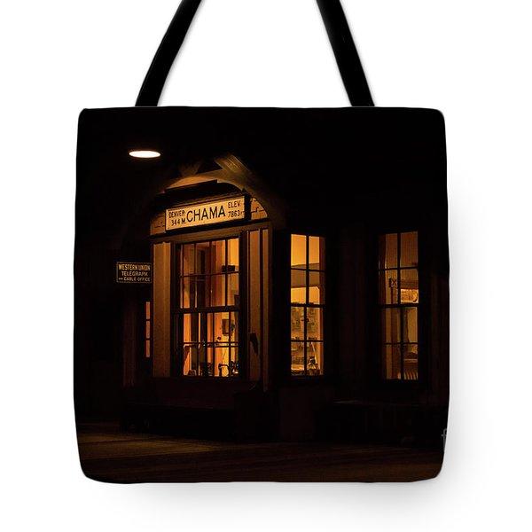 Chama Depot Tote Bag
