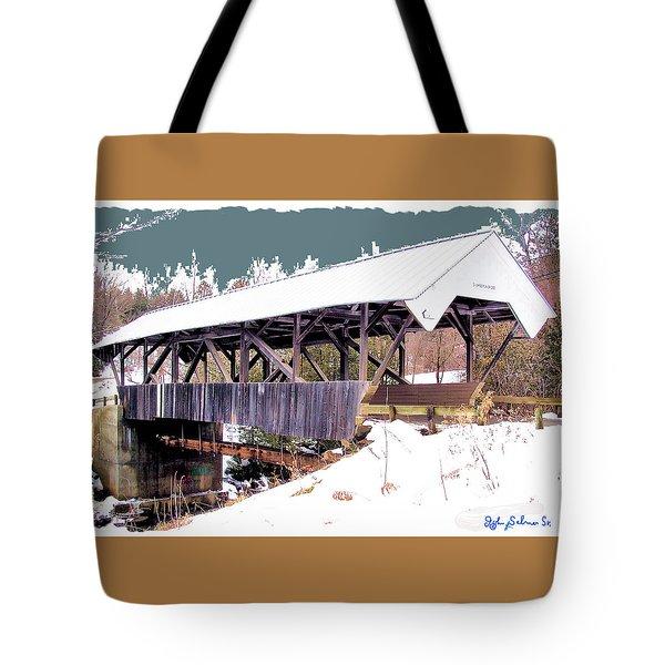 Chamberlain Bridge Tote Bag