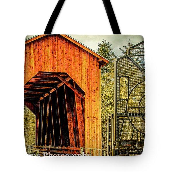 Chambers Railroad Bridge Tote Bag