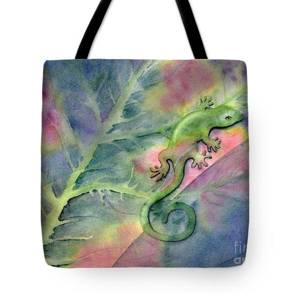 Chameleon Tote Bag by Amy Kirkpatrick