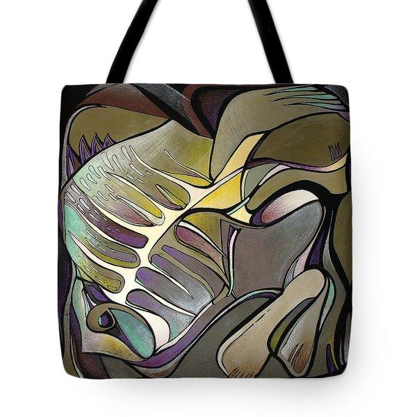Chameleon Fish Tote Bag by Deyana Deco
