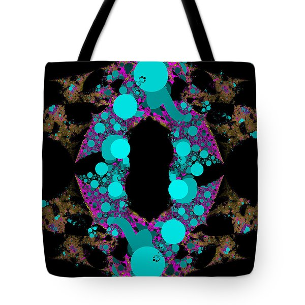 Tote Bag featuring the digital art Chamention by Andrew Kotlinski