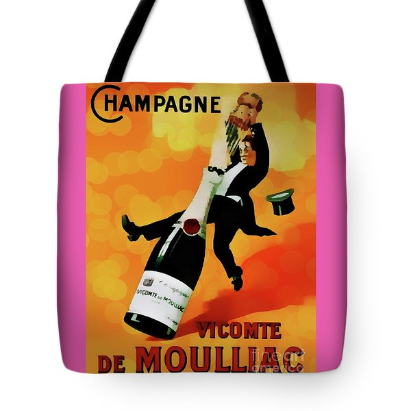 Champagne Celebration Tote Bag by Ian Gledhill