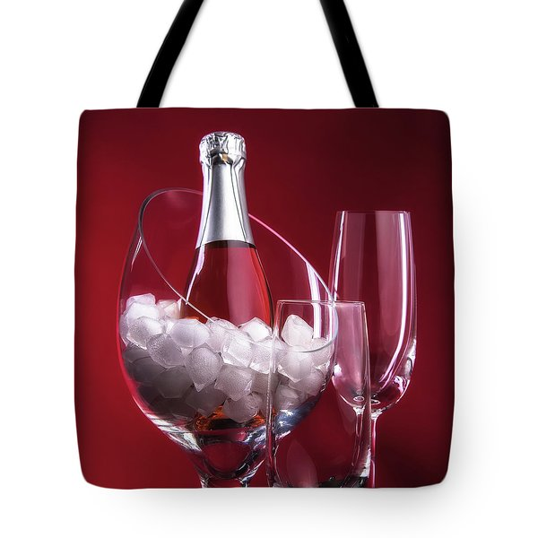 Tote Bag featuring the photograph Champagne For Two by Tom Mc Nemar