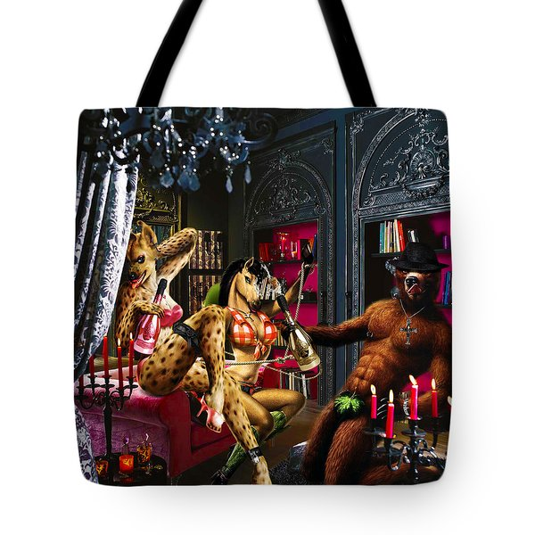 Champagne Shower Tote Bag