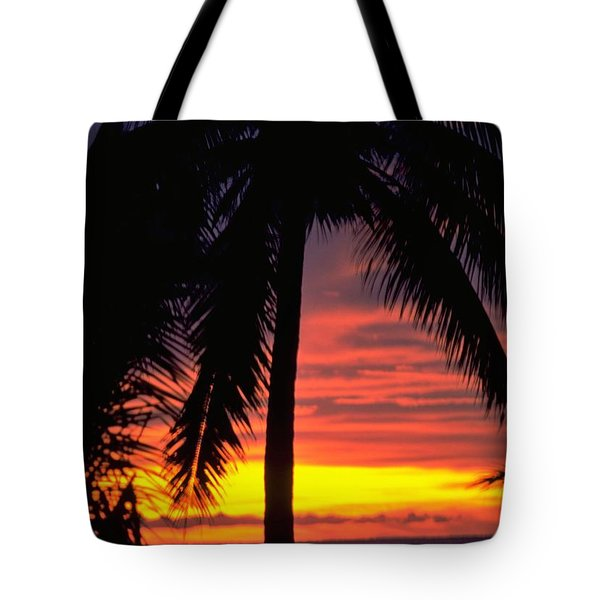 Champagne Sunset Tote Bag