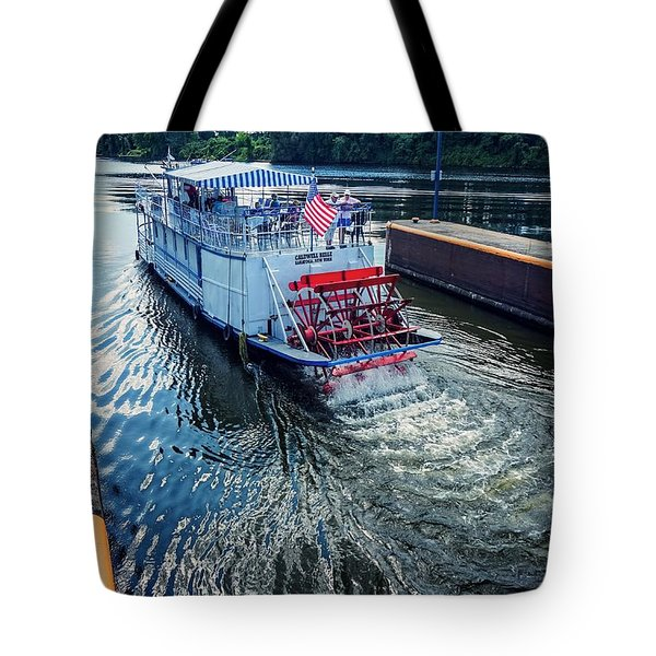 Champlain Canal Patriot Tote Bag