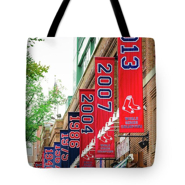 Champs Again Tote Bag by Mike Ste Marie
