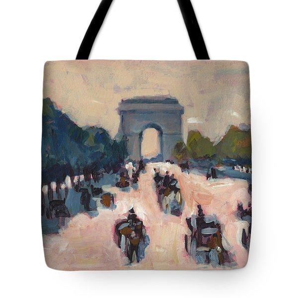 Champs Elysees Paris Tote Bag