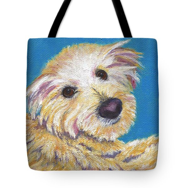 Tote Bag featuring the painting Chance by Jamie Frier