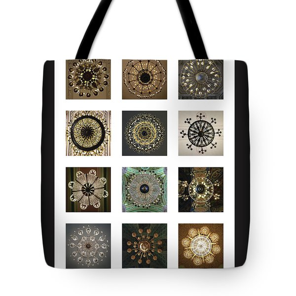 Collection Poster Chandeliers From Russia Tote Bag