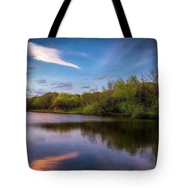 Chandler Lagoon Tote Bag