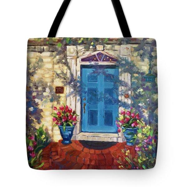 Chandor Gardens Door Tote Bag