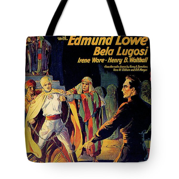 Chandu The Magician Tote Bag by Movieworld Posters