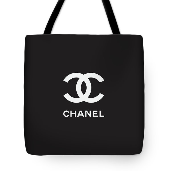 Chanel - Black And White 03 - Lifestyle And Fashion Tote Bag