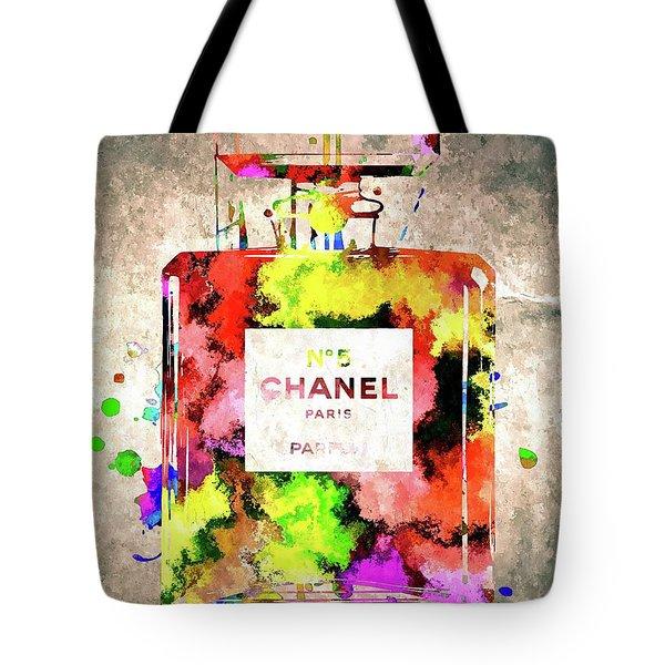 Chanel No 5 Tote Bag by Daniel Janda