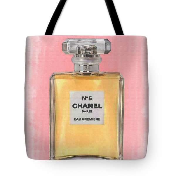 Chanel No 5 Eau De Parfum Tote Bag