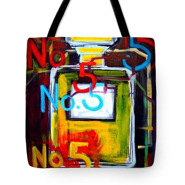 Chanel No. 5 Tote Bag