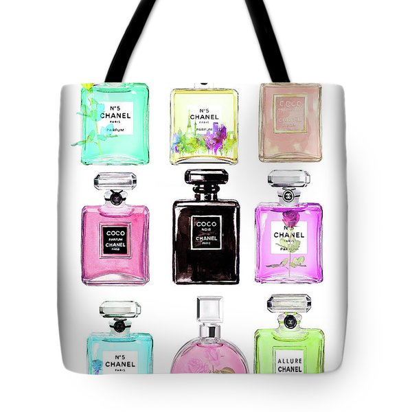 Chanel Perfume Set 9er Tote Bag