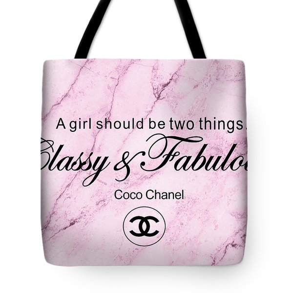 Chanel Quote Tote Bag