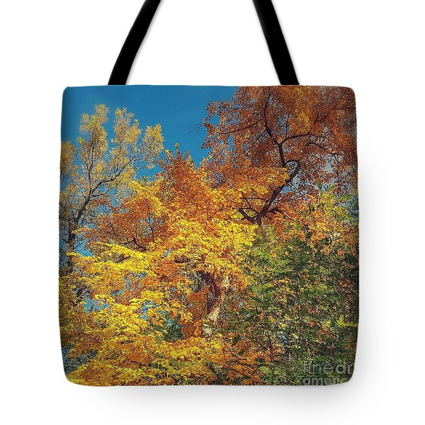 Change Is In The Air Tote Bag