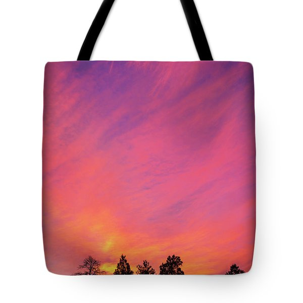 Change Is Often A Challenge Which Both Excites The Soul And Frightens The Body. Tote Bag