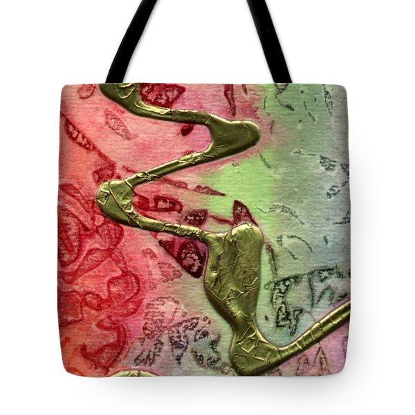 Tote Bag featuring the mixed media Changes by Angela L Walker