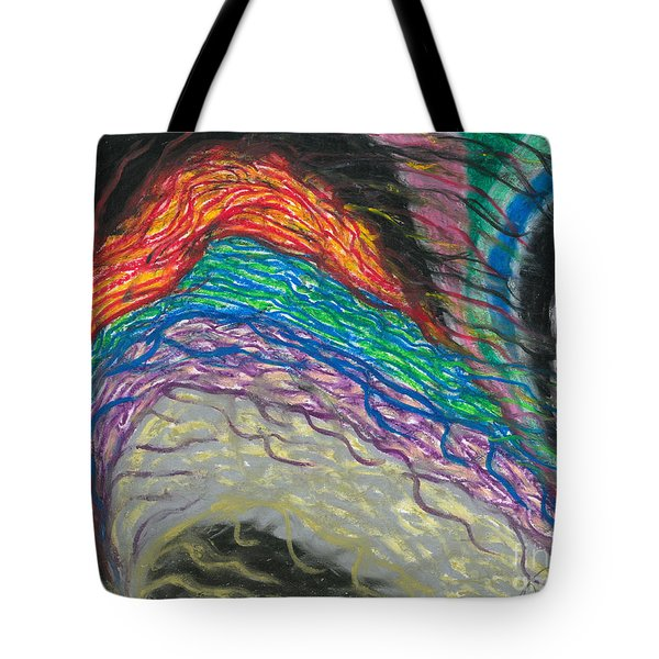 Tote Bag featuring the painting Changes by Ania M Milo