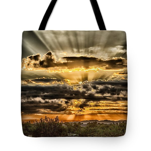 Tote Bag featuring the photograph Changes by Michael Rogers
