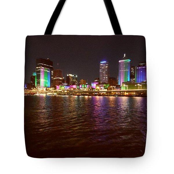 Changing Lights - Brisbane Tote Bag