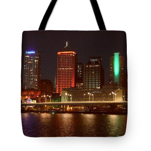 Changing Lights Tote Bag