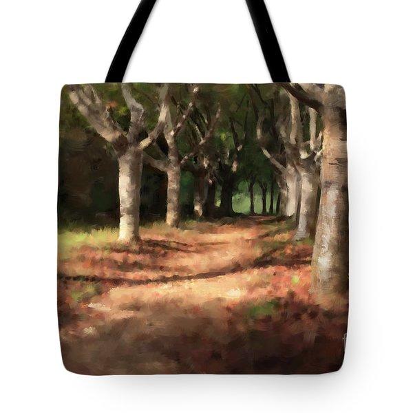 Changing Of Seasons Tote Bag