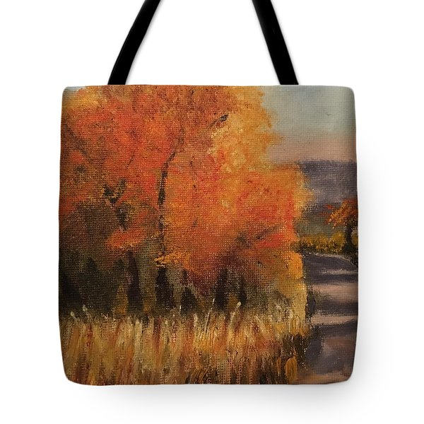 Changing Season Tote Bag