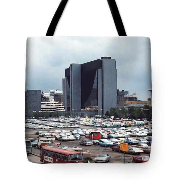 Changing Skyline Tote Bag