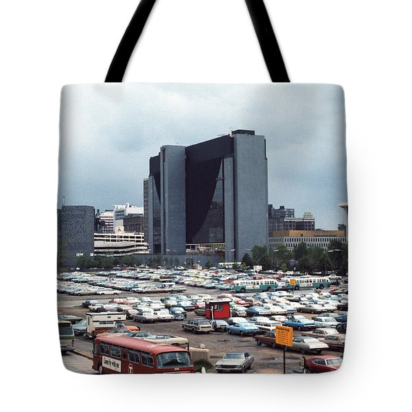 Changing Skyline Tote Bag