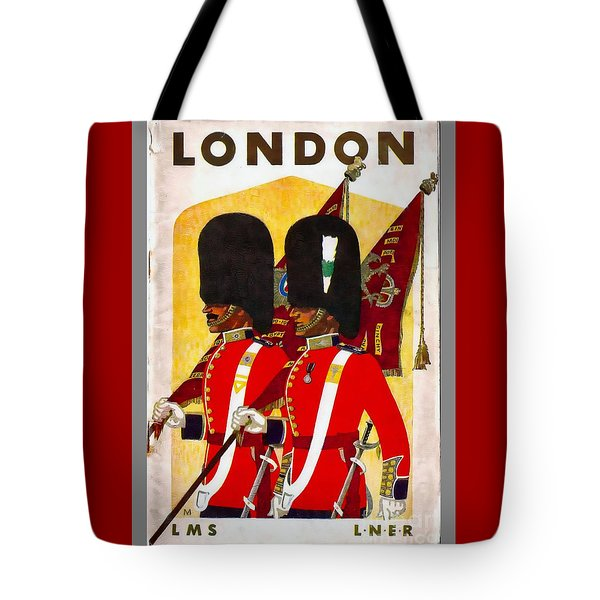 Changing The Guard London - 1937 Tote Bag