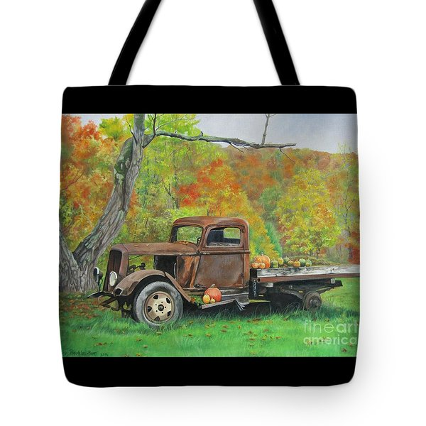 Changing Times Tote Bag