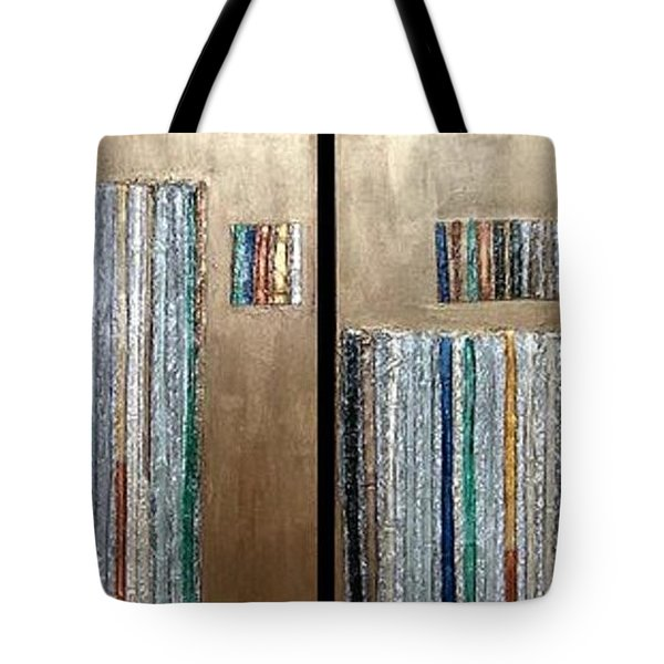 Channeling Tote Bag by Marlene Burns