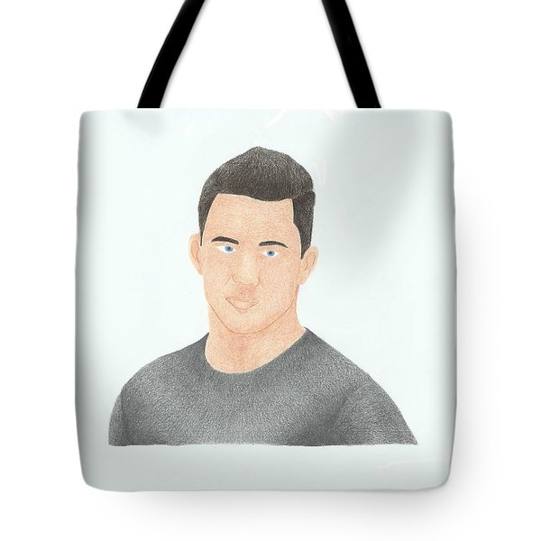 Channing Tatum Tote Bag