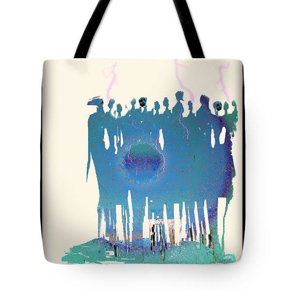 Women Chanting - Recharging The Earth Tote Bag