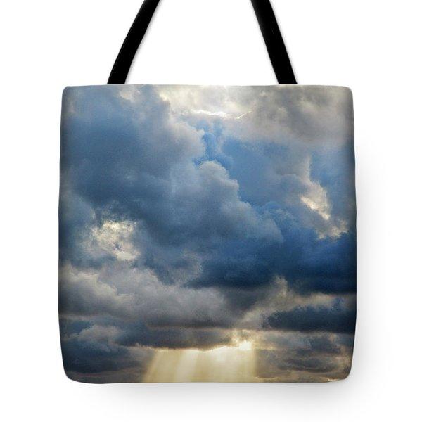 Celestial Light Tote Bag