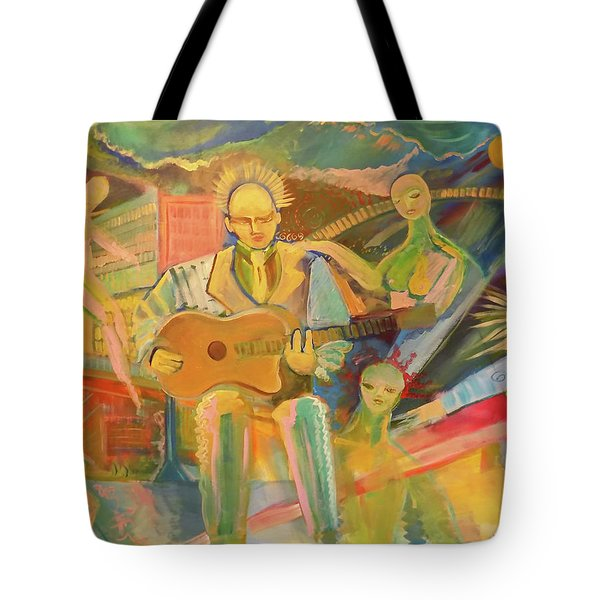 Chaos And Redemption Tote Bag by John Keaton