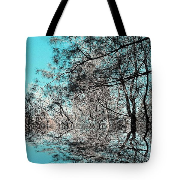 Tote Bag featuring the photograph Chaos  by Elfriede Fulda