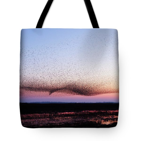 Chaos In Motion - Bird Of Many Birds Tote Bag by Roeselien Raimond