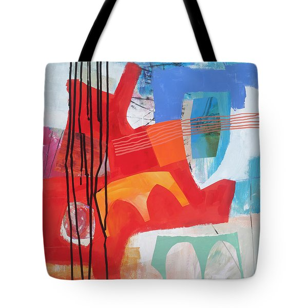 Chaos Theory#1 Tote Bag by Jane Davies