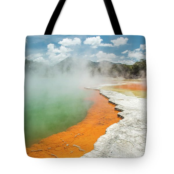 Champagne Pool Tote Bag
