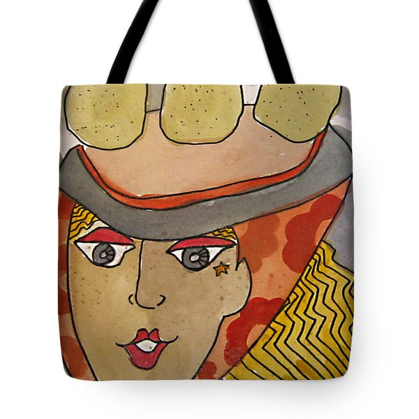 Chapeau Pommes Tote Bag