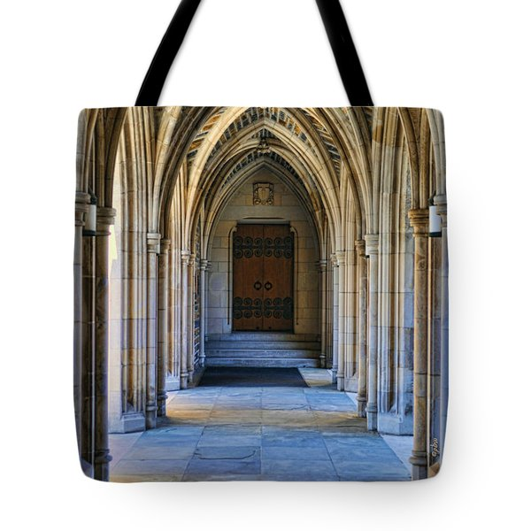 Chapel Arches Tote Bag