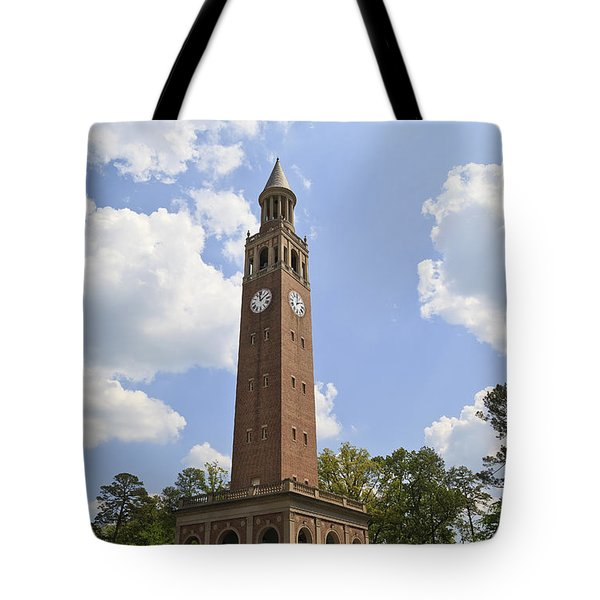Chapel Hill Bell Tower Tote Bag